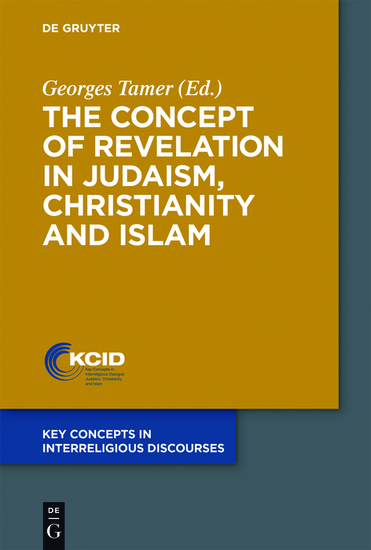 The Concept of Revelation in Judaism Christianity and Islam - cover