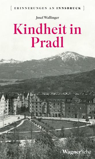 Kindheit in Pradl - cover