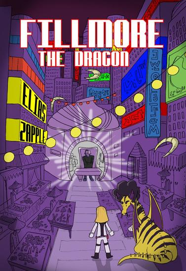 Fillmore the Dragon - Jellybean the Dragon Stories American-English Edition #3 - cover