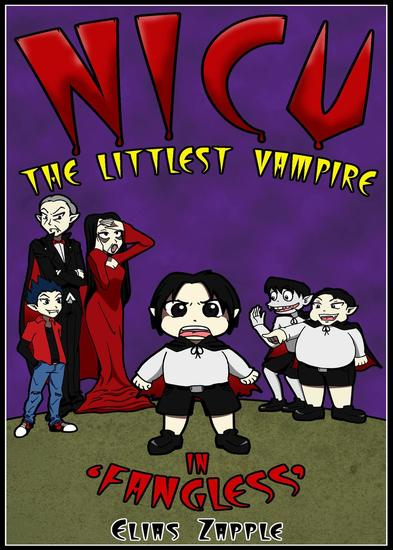 Fangless - Nicu - The Littlest Vampire American-English Edition #1 - cover