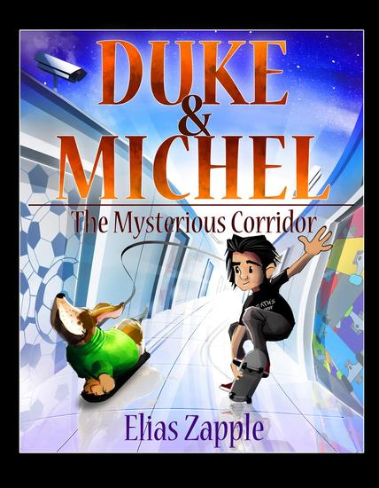 The Mysterious Corridor - Duke & Michel (American-English Edition) - cover