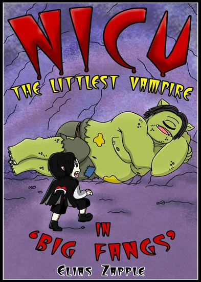 Big Fangs - Nicu - The Littlest Vampire American-English Edition #2 - cover