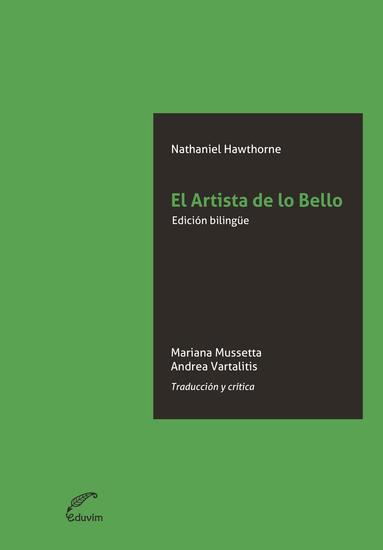El artista de lo bello - Traducción y crítica - cover