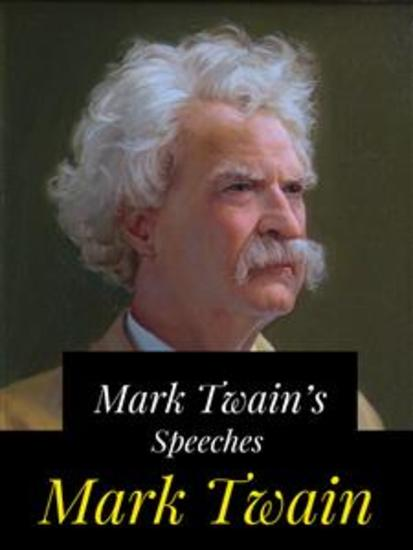 Mark Twain's Speeches - cover