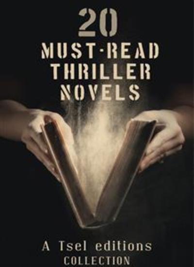 20 Must-Read Thriller Novels - cover