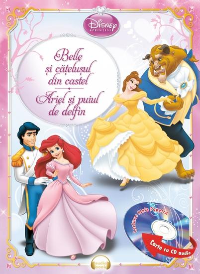 Belle si catelusul din castel Ariel si puiul de delfin - cover