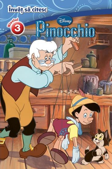 Invat sa citesc - Nivelul 3 - Pinnochio - cover