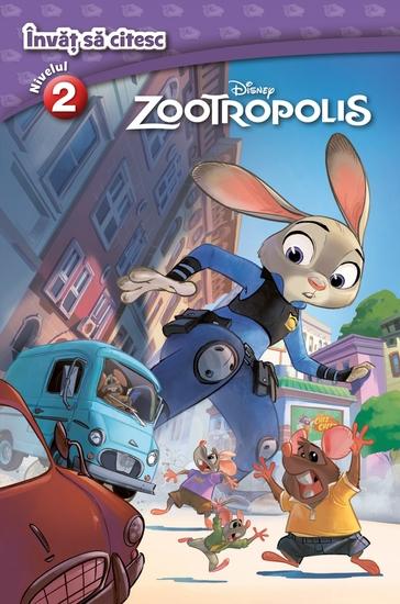 Invat sa citesc - Nivelul 2 - Zootropolis - cover