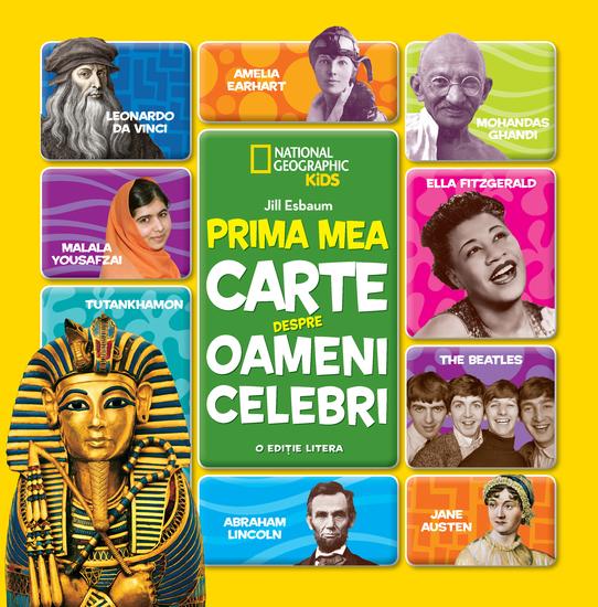 Prima Mea Carte Despre Oameni Celebri - cover