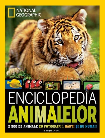 Enciclopedia animalelor - 2 500 de specii de animale - cover