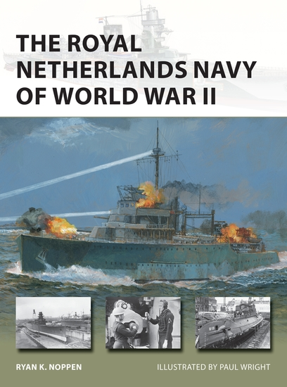 The Royal Netherlands Navy of World War II - cover