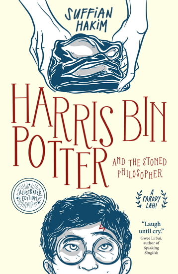 Harris bin Potter and the Stoned Philosopher - cover