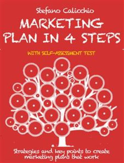Marketing plan in 4 steps - Strategies and key points to create marketing plans that work - cover