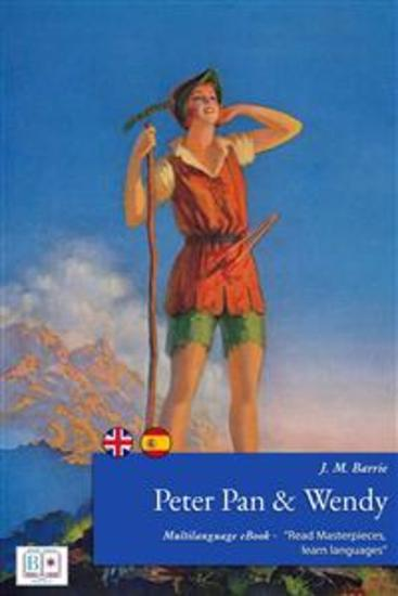 Peter Pan and Wendy - (English + French Interactive Version) - Babylonia Project: read masterpieces learn languages - cover