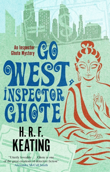 Go West Inspector Ghote - cover
