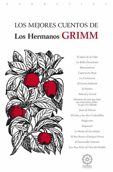 Los mejores Cuentos de los Hermanos Grimm - cover