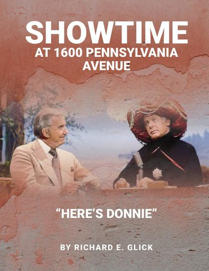 Showtime at 1600 pennsylvania avenue - here's donnie - cover