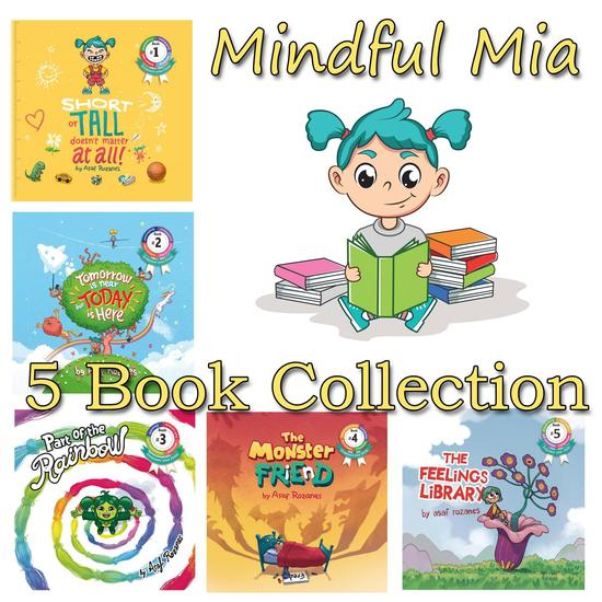 Mindful Mia 5 Book Collection - Mindful Mia - cover