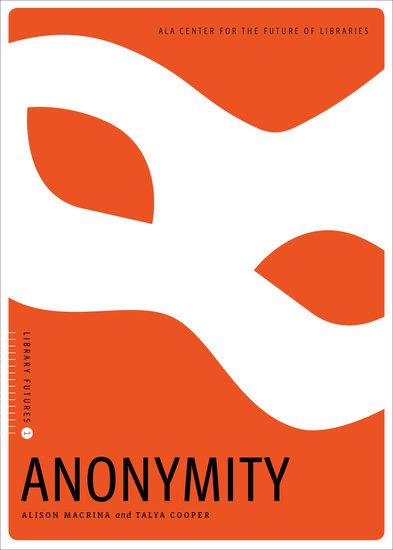Anonymity - cover