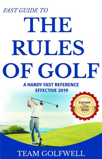 Fast Guide to the Rules of Golf - A Handy Fast Guide to Golf Rules - cover