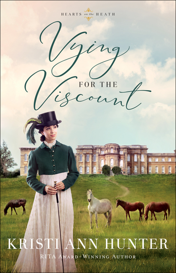 Vying for the Viscount (Hearts on the Heath) - cover