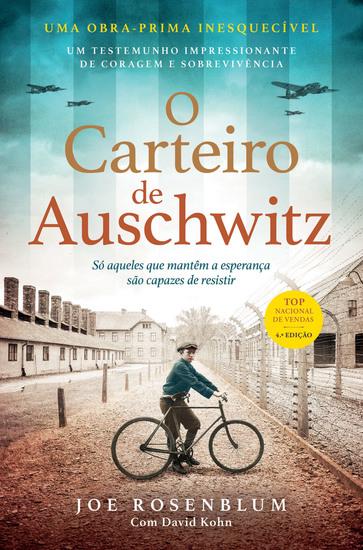 O Carteiro de Auschwitz - cover