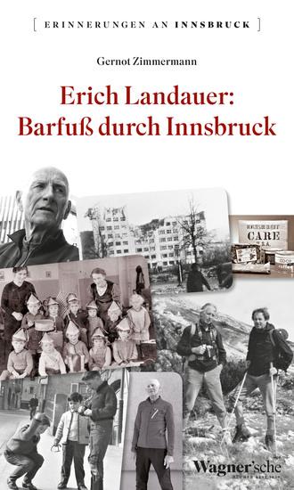 Erich Landauer: Barfuß durch Innsbruck - cover