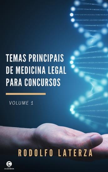 Temas Principais de Medicina Legal para Concursos (volume 1) - cover