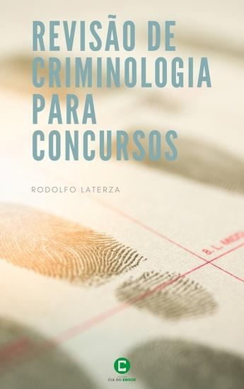 Revisão de Criminologia para Concursos - cover