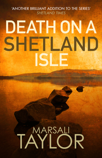 Death on a Shetland Isle - cover