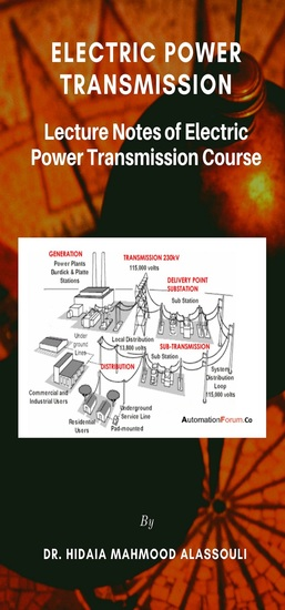 Electric Power Transmission - Lecture Notes of Electric Power Transmission Course - cover