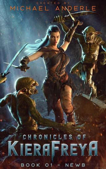 Newb - Chronicles Of KieraFreya Book 01 - cover