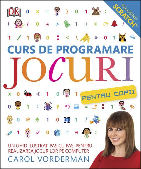 Curs de programare jocuri pentru copii - cover