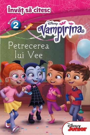 Învăț să citesc 3 - Vampirina - Petrecerea lui Vee - cover