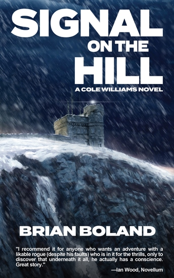 Signal on the Hill - A Cole Williams Novel - cover