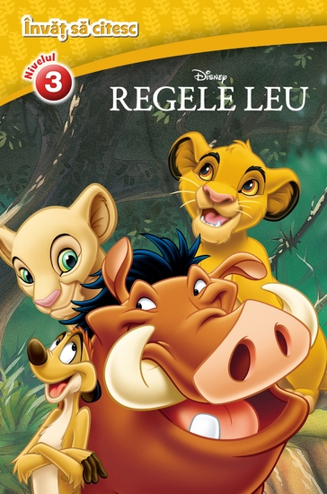învăț Să Citesc 3 - Regele Leu - cover