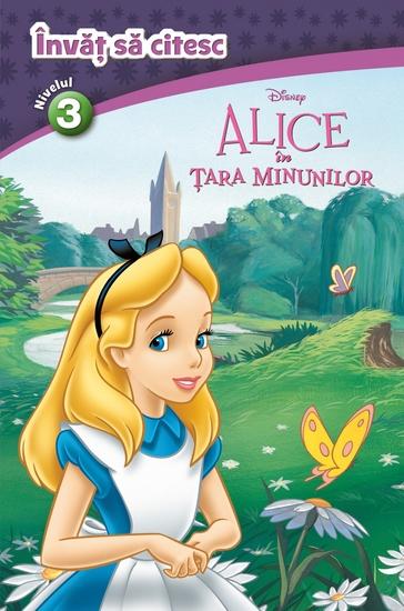 învăț Să Citesc 3 - Alice in Tara Minunilor - cover