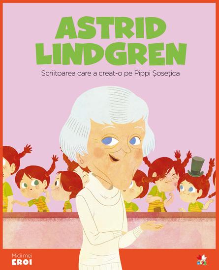 Micii eroi - Astrig Lindgren - cover