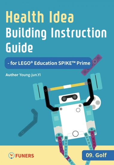 Health Idea Building Instruction Guide for LEGO® Education SPIKE™ Prime 09 Golf - cover