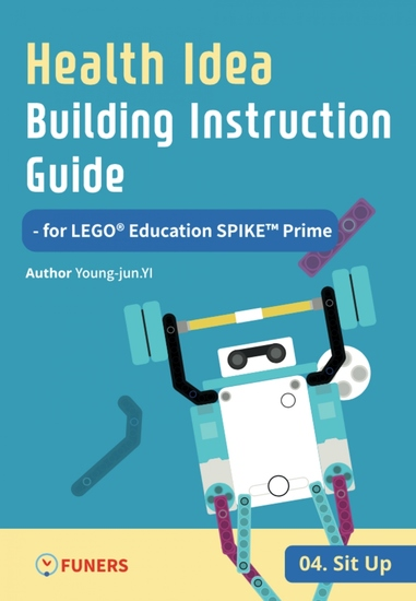 Health Idea Building Instruction Guide for LEGO® Education SPIKE™ Prime 04 Sit up - cover