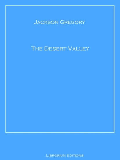 The Desert Valley - cover