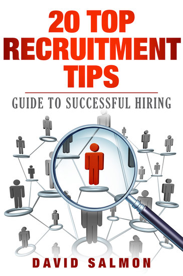 20 top recruitment Tips - guide to successful hiring - cover