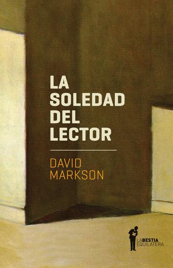 La soledad del lector - cover