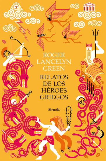 Relatos de los héroes griegos - cover