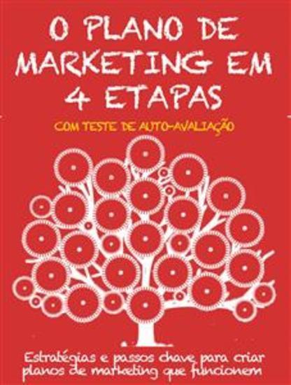 O plano de marketing em 4 etapas - Estratégias e passos chave para criar planos de marketing que funcionem - cover