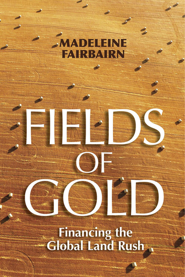 Fields of Gold - Financing the Global Land Rush - cover