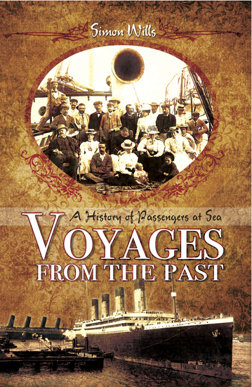 Voyages from the Past - A History of Passengers at Sea - cover
