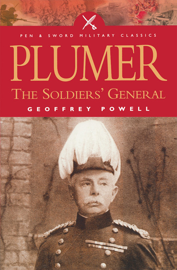 Plumer - The Soldiers' General - cover