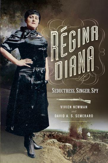 Regina Diana - Seductress Singer Spy - cover