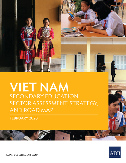 Viet Nam Secondary Education Sector Assessment Strategy and Road Map - cover